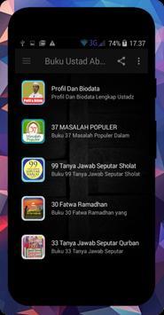 Buku Ustadz Abdul Somad Lc. MA عبد الصمد screenshot 1