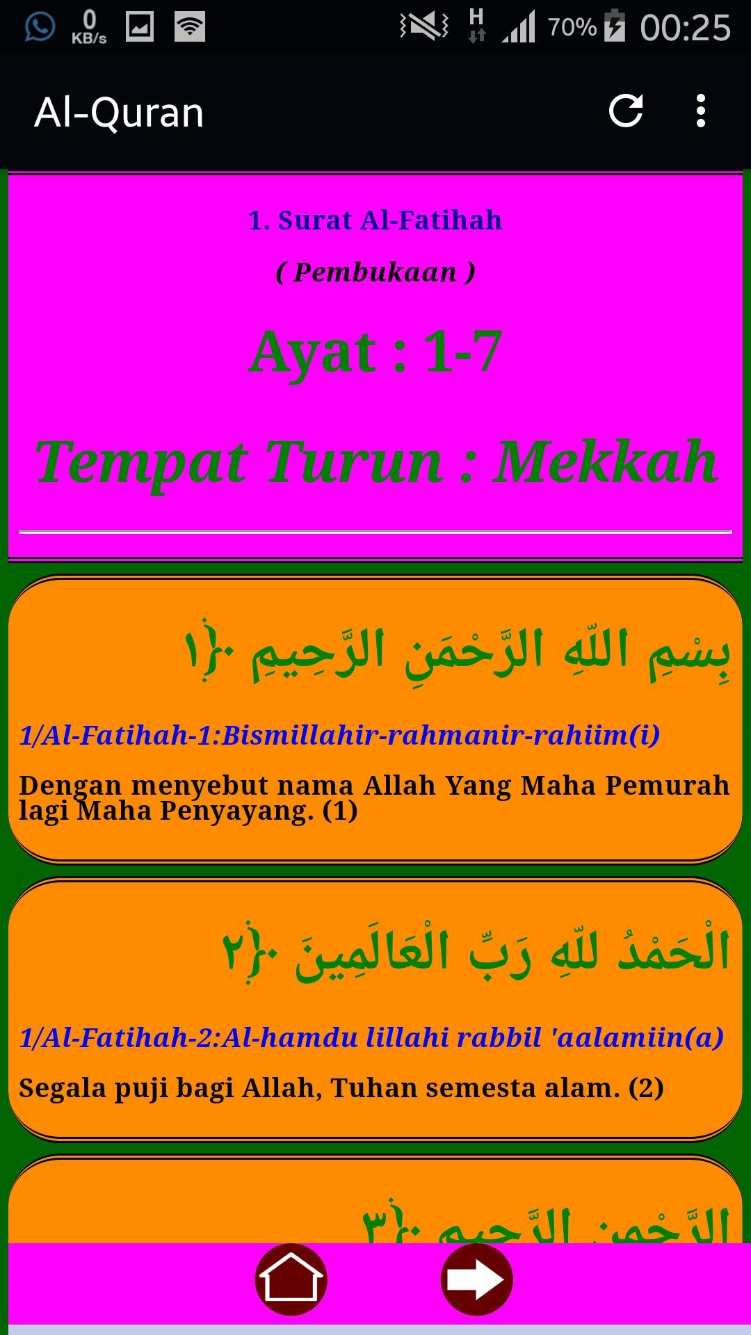 Al Quran Latin Dan Terjemah Full 114 Surat For Android Apk
