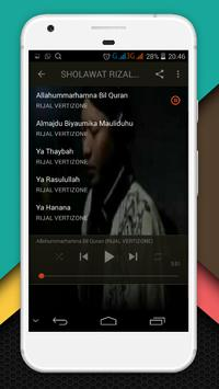 Shalawat Rijal Vertizon Mp3 screenshot 3