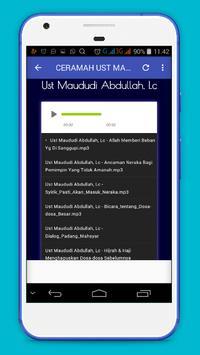 Ceramah Ust Maududi Abdullah Lc screenshot 3