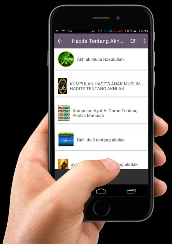 Hadits Nabi Tentang Akhlak For Android Apk Download