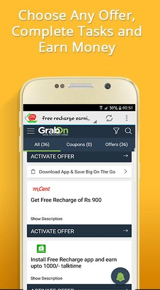 free recharge earning app for Android - APK Download