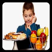 Obesity in children icon