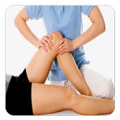 knees therapy icon