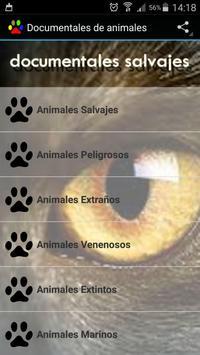Documentales de animales poster