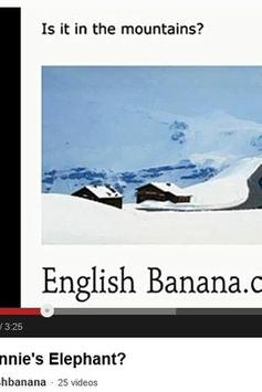 English Banana Resource App apk screenshot