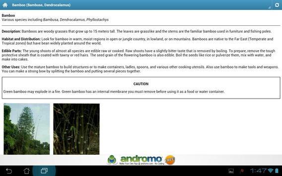 Edible and Medicinal Plants apk screenshot