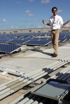 Solar power poster