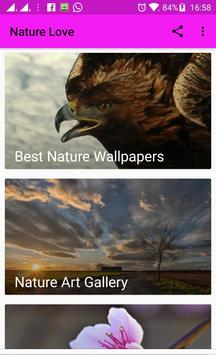 Natures Love Wallpapers & Backgrounds poster