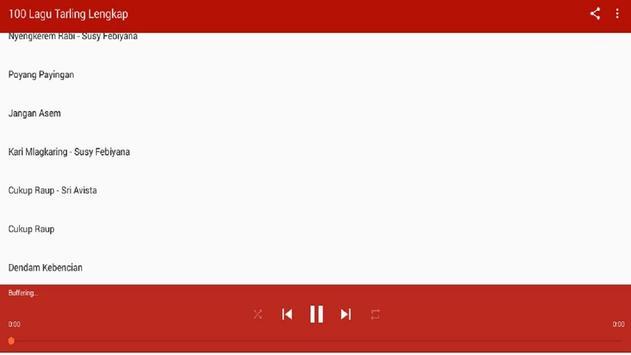 100 Musik Tarling Terbaik screenshot 1