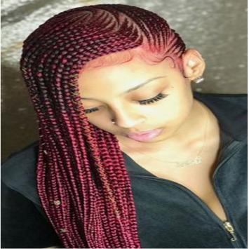 Naija Braids Hairstyle app poster