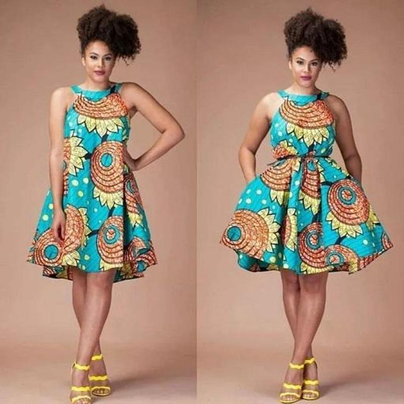 ddd50bdc5827 Ankara Short Gown Styles for Android - APK Download