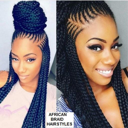African Hairstyles Braids Twist Cornrows For Android