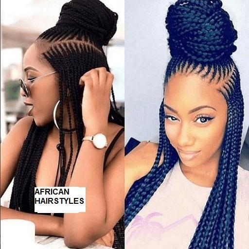 African Hairstyles; Braids, Twist & Cornrows for Android - APK Download