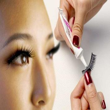 How To Fix False Eyelashes screenshot 1