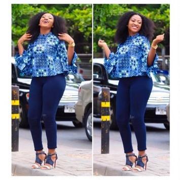 Ankara Tops + Jeans styles screenshot 1