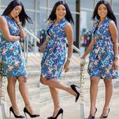 Ankara Wrap Dresses. icon