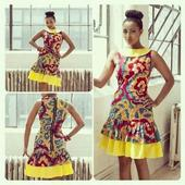 Hot African Short Gowns. icon