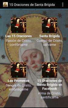 15 Oraciones de Santa Brígida poster