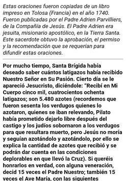 15 Oraciones de Santa Brígida screenshot 5