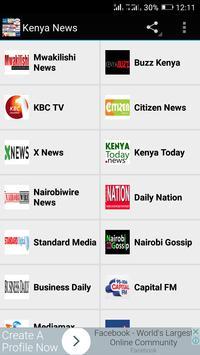 Kenya News poster