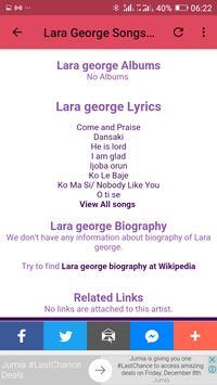 Lara George Mp3 Songs screenshot 3