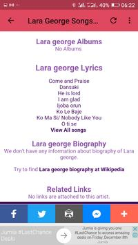 Lara George Mp3 Songs screenshot 7