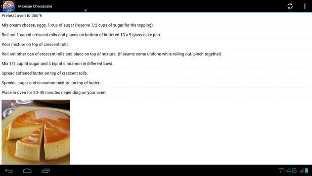 Mexican Food Recipes! screenshot 2