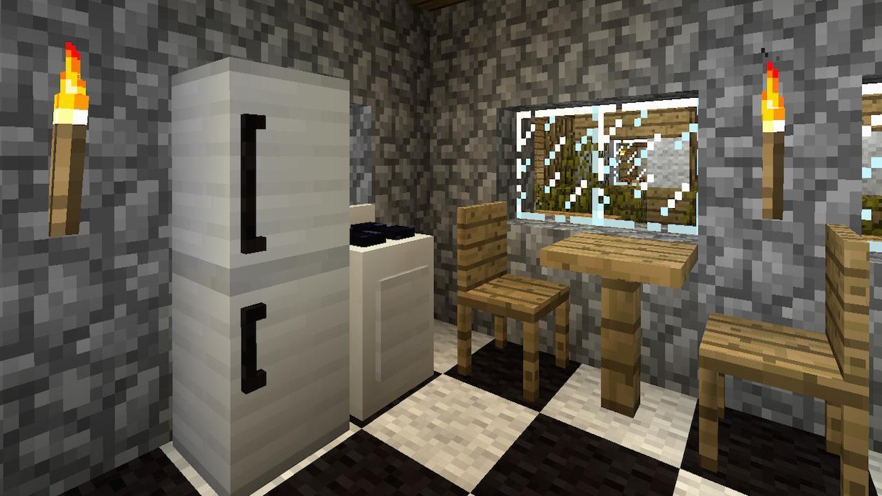 mrcrayfish s furniture mod для майнкрафт пе 0.14.0