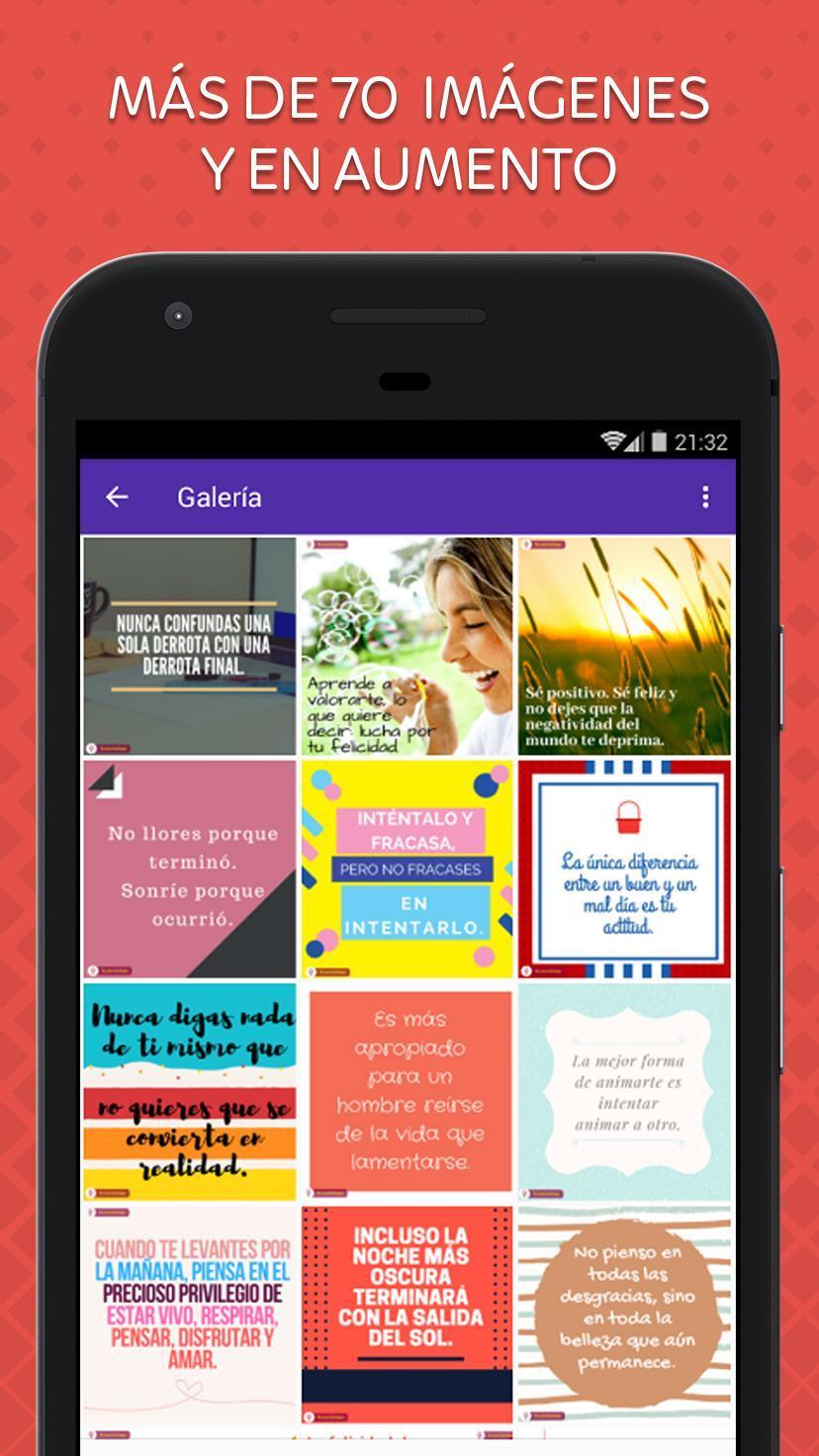 Frases Para Levantar El ánimo For Android Apk Download