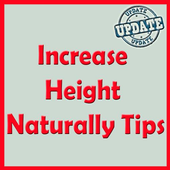 Increase Height Naturally Tips icon