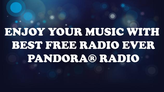 Tips For Pandora Radio Free poster