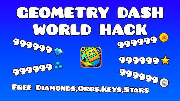 Cheats of Geometry Dash World poster