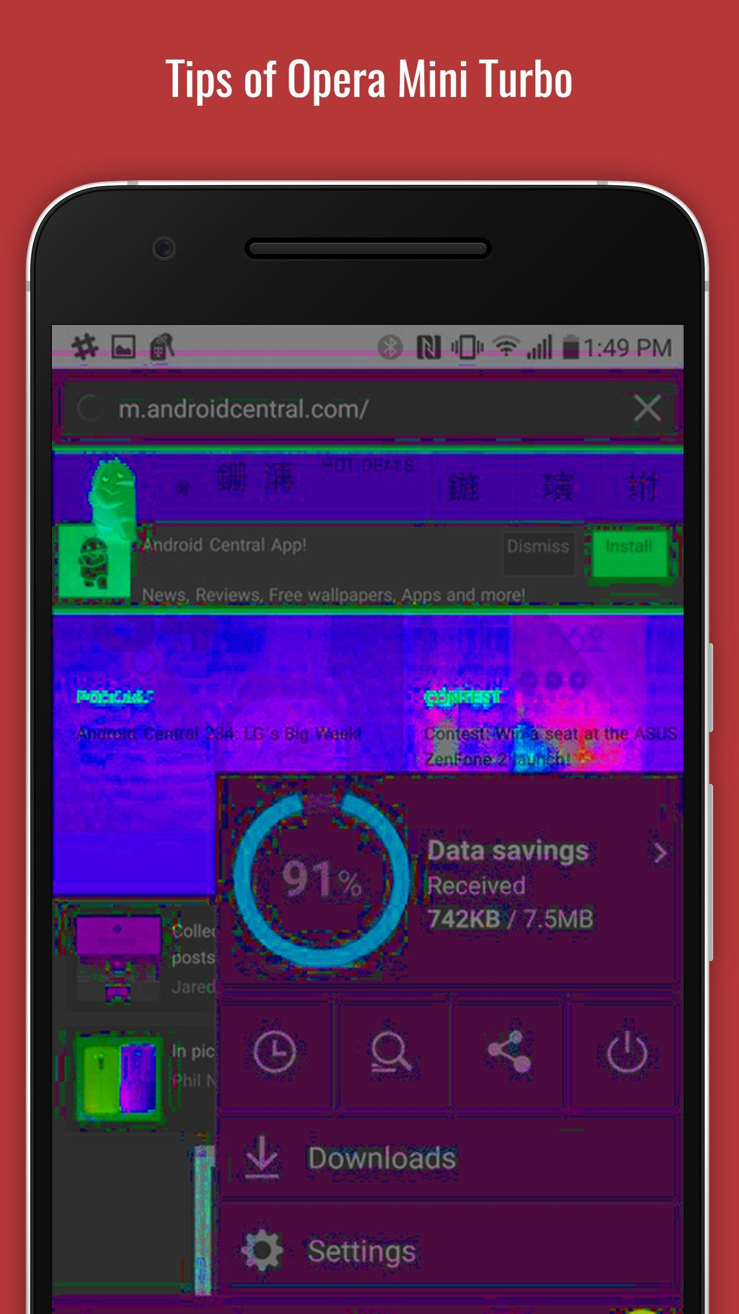 Tips of Opera Mini Turbo for Android - APK Download