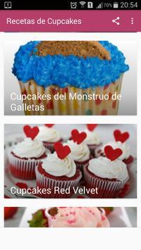 Recetas de Cupcakes screenshot 4