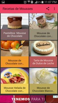 Recetas de Mousses screenshot 4