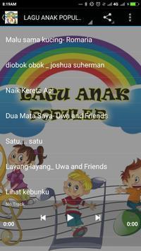 Lagu Anak Populer poster