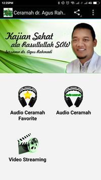 Ceramah dr. Agus Rahmadi poster