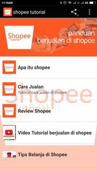 Shopee Tutorial poster
