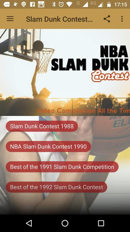 Slam Dunk Contest All The Time Poster