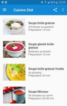 Cuisine Diét screenshot 1