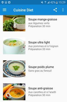 Cuisine Diét screenshot 2
