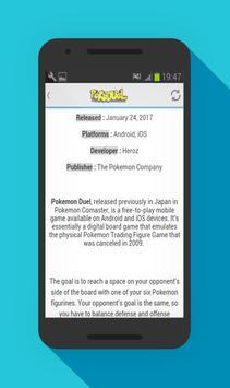 Guide for Pokemon Duel apk screenshot