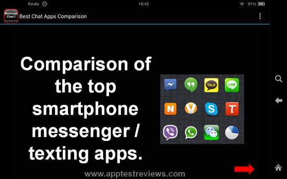 Best Chat Apps Comparison I apk screenshot