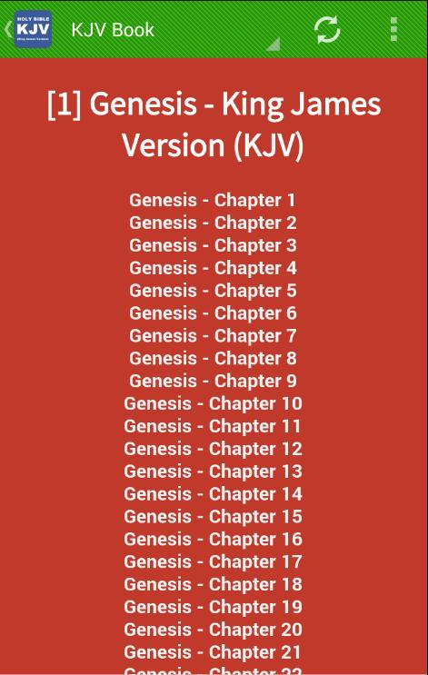KJV Study Bible Free Download - King James Audio for Android
