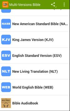 Multi Version Bible Free Download KJV✟NKJV✟NIV✟NLT for