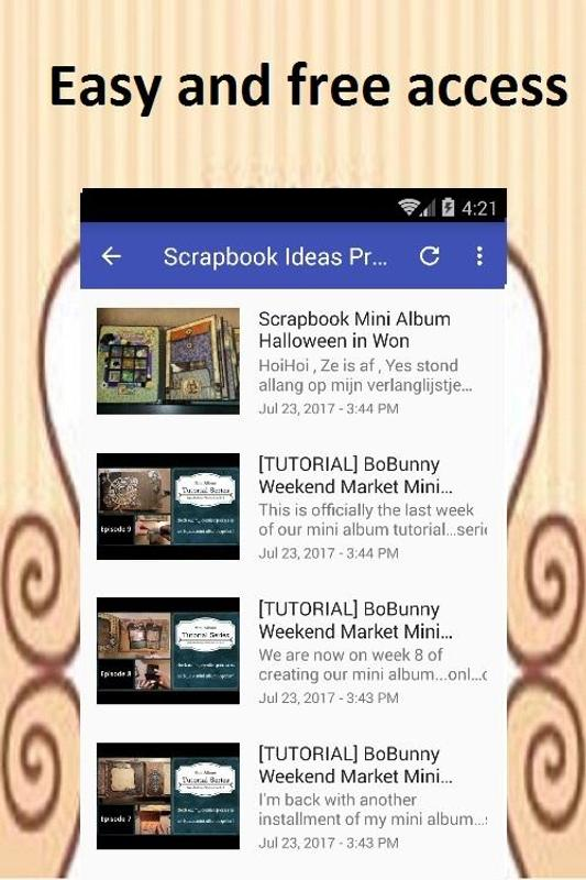 Scrapbook Ideas Apk Download Free Art Design App For Android