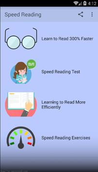 Speed Reading poster