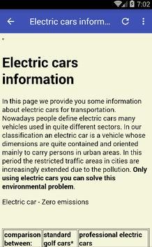 Electric Cars screenshot 1
