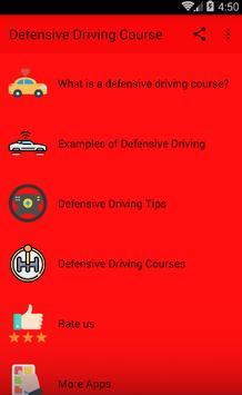 Defensive Driving Course poster